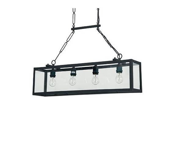 Lampa wisząca Igor SP4 092942 Ideal Lux nowoczesna oprawa w kolorze czarnym