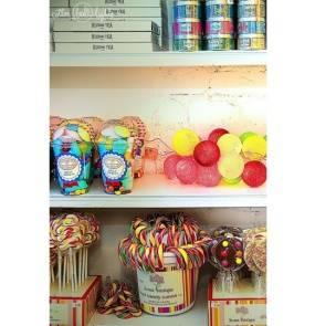 Kolorowe kulki LED kompozycja - Candy