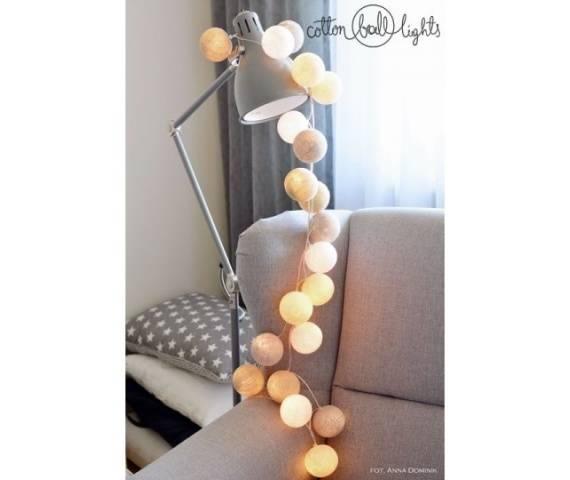 Kolorowe kulki LED kompozycja - Pretty Pleasure