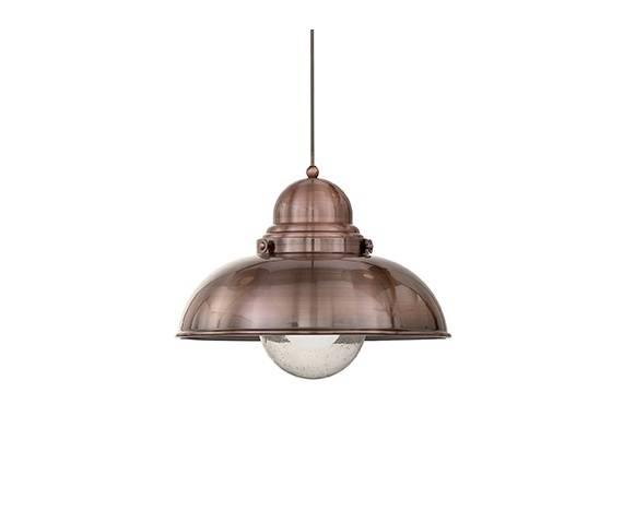 Lampa wisząca Sailor SP1 D43 025315 Ideal Lux oprawa w kolorze miedzi