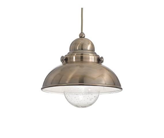 Lampa wisząca Sailor SP1 D29 025308 Ideal Lux oprawa w kolorze patyny