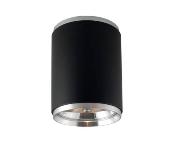 Lampa sufitowa RETI 8130L CZ czarna ELKIM