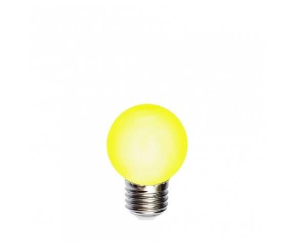 Żarówka LED E27 kulka 45mm Kolorowe kable