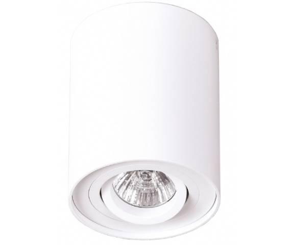 PROMOCJA! Plafon oprawa Basic Round I C0067 Maxlight biała oprawa w nowoczesnym stylu