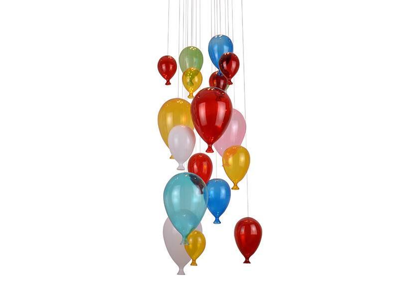 Lampa wisząca BALLOON MD50150 4 AZzardo balony Sklep