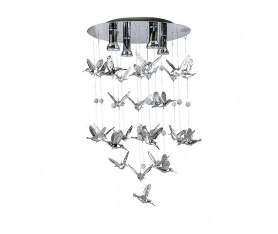 Lampa wisząca Birds AZ2449 AZzardo dekoracyjna oprawa w nowoczesnym stylu