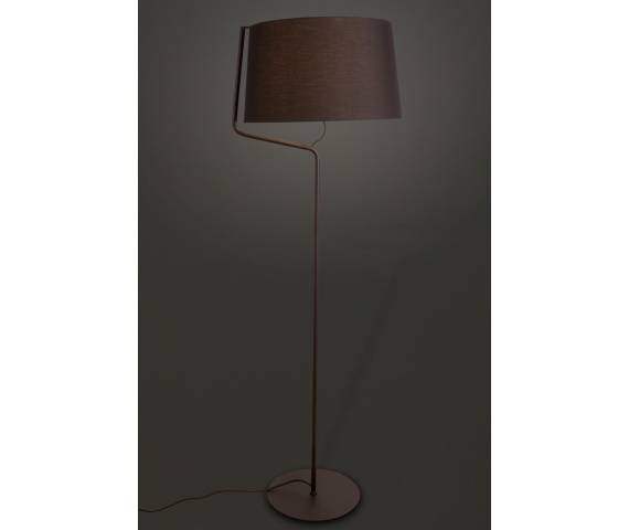 Lampa podłogowa CHICAGO BK F0036 Maxilght abażur nowoczesna hotelowa energooszczędna