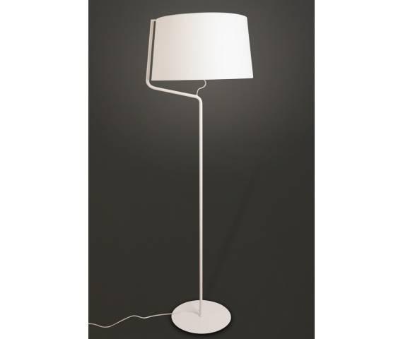 Lampa podłogowa CHICAGO WH F0035 Maxlight abażur nowoczesna hotelowa energooszczędna