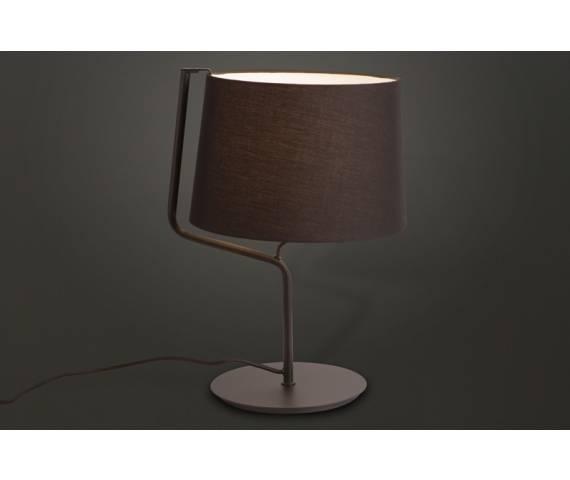 Lampa stołowa CHICAGO BK T0029 Maxlight abażur nowoczesna hotelowa energooszczędna lampka stołowa