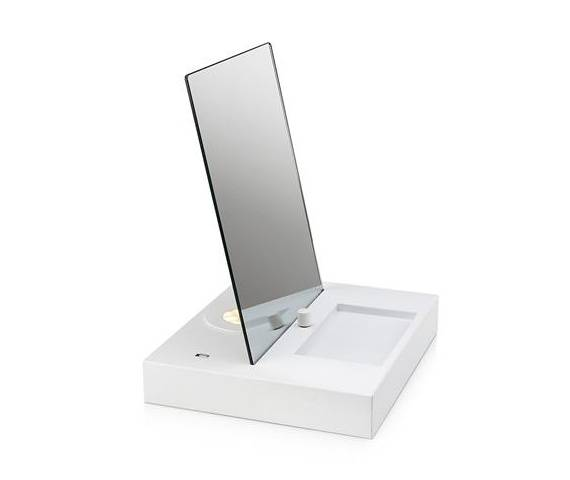 PROMOCJA! Lampa stołowa/biurkowa Reflect LED 107057 Markslojd biała lampka biurkowa z lustrem