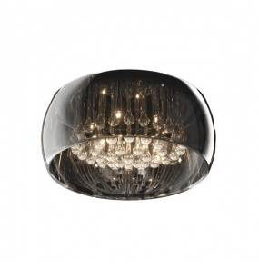 Plafon Crystal Ceiling C0076-06X-F4FZ Zuma Line transparentna oprawa w stylu nowoczesnym