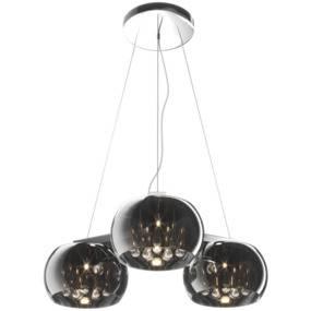 Lampa wisząca Crystal Ceiling P0076-03R-F4FZ Zuma Line potrójna oprawa w stylu nowoczesnym