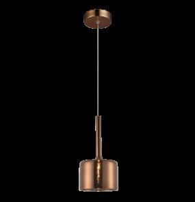 Lampa wisząca Copenhagen P01028CU COSMOLight miedziana oprawa w stylu design