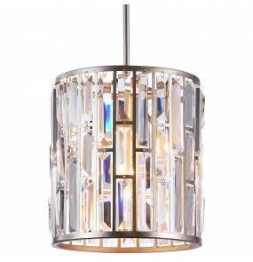 Lampa wisząca Moscow P01110CP COSMOLight szampańska oprawa w stylu kryształowym