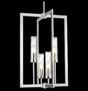 Lampa wisząca Oxford P04052NI COSMOLight niklowana oprawa w stylu nowoczesnym