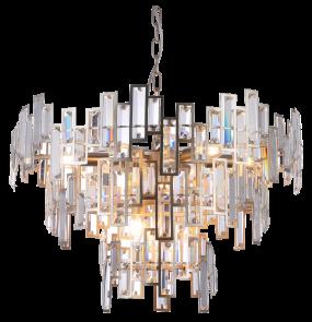 Lampa wisząca Petersburg P09158CP COSMOLight oprawa w stylu kryształowym