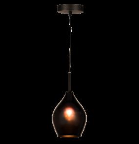 Lampa wisząca Kuala Lumpur P01557BK COSMOLight czarna oprawa w stylu nowoczesnym