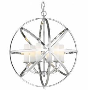 Lampa wisząca Orlando P06441CH COSMOLight chromowana oprawa w stylu design
