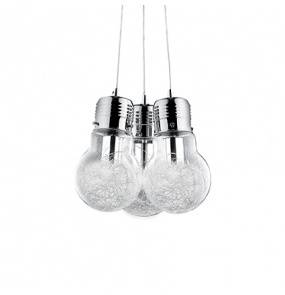 Lampa wisząca Luce Max SP3 081762 Ideal Lux nowoczesna oprawa w kolorze aluminium