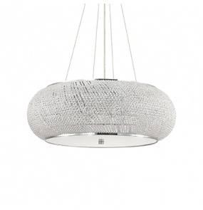 Lampa wisząca Pasha SP14 Ideal Lux kryształowa oprawa w stylu klasycznym