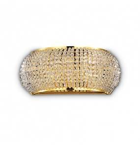 Kinkiet Pasha AP3 082288 Ideal Lux kryształowa oprawa w stylu klasycznym