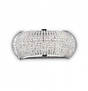 Kinkiet Pasha AP3 082264 Ideal Lux kryształowa oprawa w stylu klasycznym