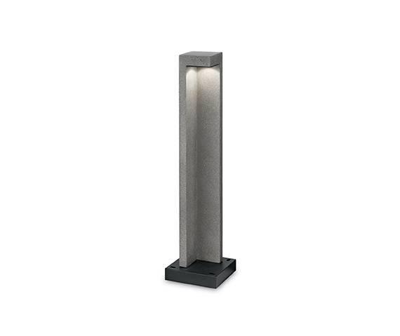 Lampa stojąca Titano PT1 Big 187327 Ideal Lux oprawa zewnętrzna w kolorze granitu