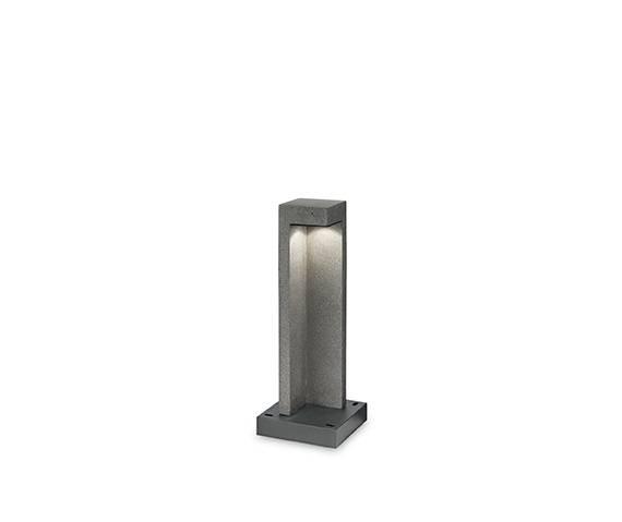 Lampa stojąca Titano PT1 Small 157856 Ideal Lux oprawa zewnętrzna w kolorze granitu