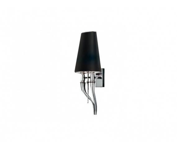 Kinkiet Diablo AZ1343 AZzardo nowoczesna oprawa w kolorze czarnym