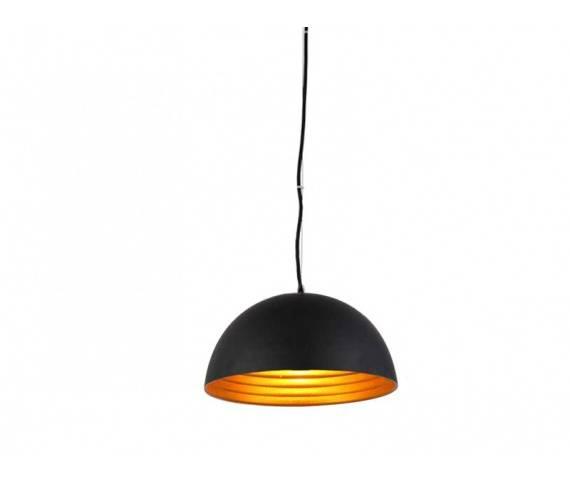 Lampa wisząca Modena 40 FB6838-40 BK/GO AZzardo minimalistyczna oprawa w kolorze czarnym