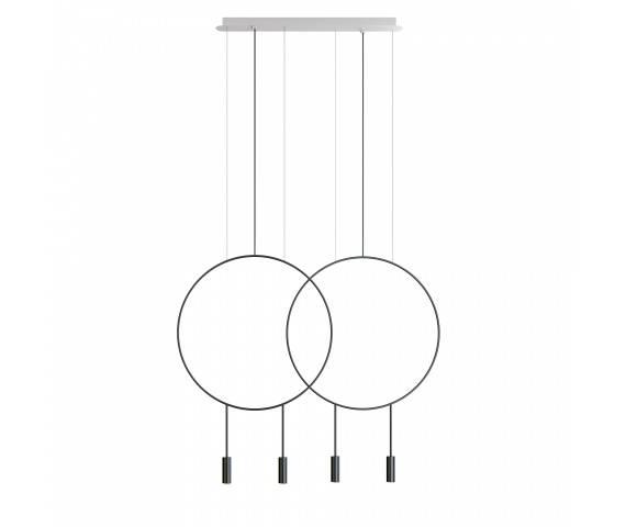 Lampa wisząca Revolta L73.2D Estiluz minimalistyczna oprawa w dekoracyjnym stylu