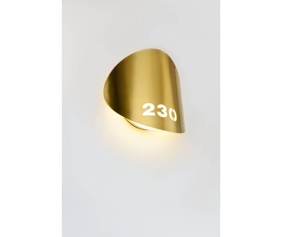 Kinkiet Lune A-3370-W Estiluz minimalistyczna oprawa ścienna w nowoczesnym stylu