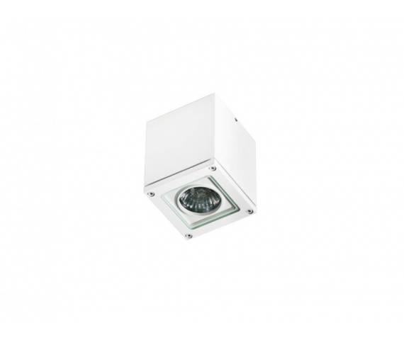 Plafon zewnętrzny Tonio AZ0870 AZzardo nowoczesna oprawa w kolorze białym