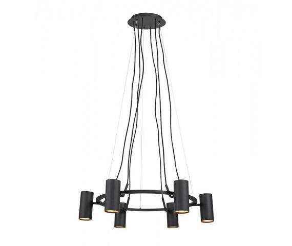 Lampa wisząca Porto 107357 Markslojd nowoczesna oprawa w kolorze czarnym