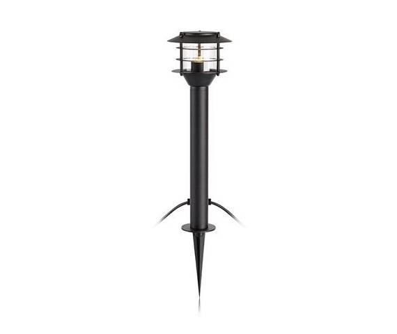 Lampa stojąca Słupek Garden 24 107290 Markslojd zewnętrzna oprawa w kolorze czarnym
