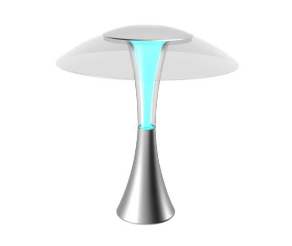 Lampa stołowa Dalen DL-1X Zuma Line nowoczesna oprawa w kolorze białym