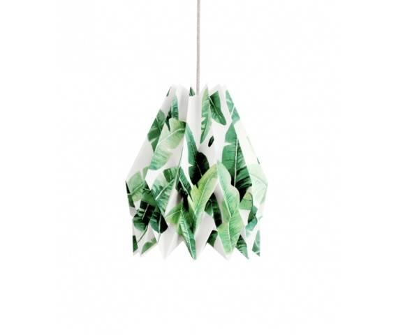 Lampa wisząca Tropical Orikomi dekoracyjna oprawa w nowoczesnym stylu