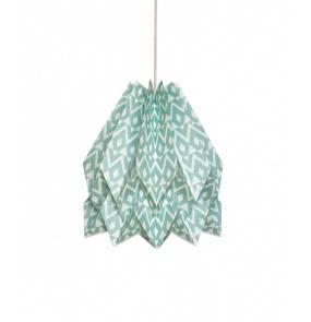 Lampa wisząca Tupi Deep Lagoon Orikomi dekoracyjna oprawa w kolorze zielonym