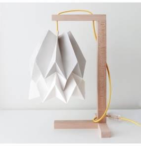 Lampa stołowa Table Light Grey/Polar White Orikomi szaro-biała oprawa w minimalistycznym stylu