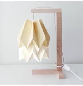 Lampa stołowa Table Pale Yellow/Polar White Orikomi żółto-biała oprawa w minimalistycznym stylu