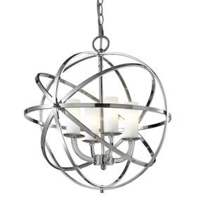 Lampa wisząca Orlando P04820CH  COSMOLight chromowana oprawa w stylu design