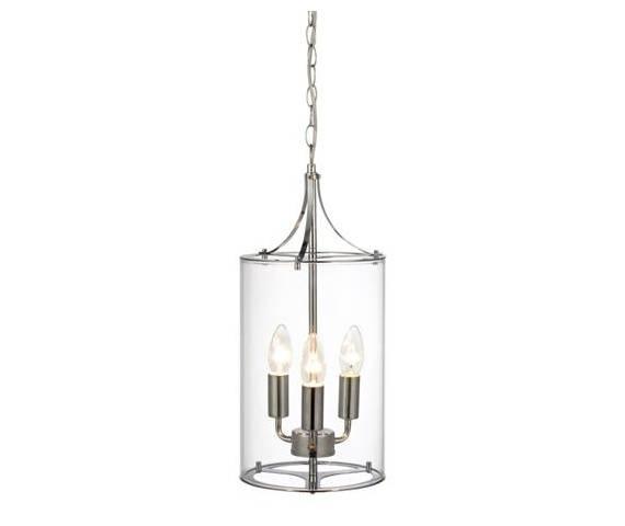 Lampa wisząca Vinga 104652 Markslojd chromowana oprawa w dekoracyjnym stylu