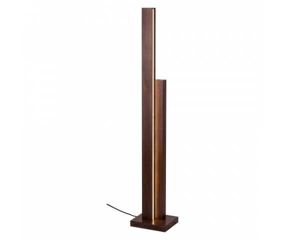 Lampa podłogowa Manhattan 6482976 SPOTLight Premium Collection bukowa oprawa w nowoczesnym stylu