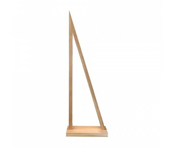 Lampa podłogowa Segel 1213174 SPOTLight Premium Collection trójkątna oprawa z drewna dębowego