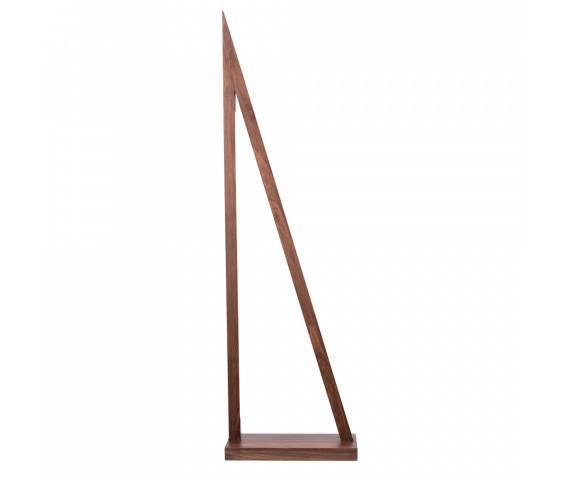 Lampa podłogowa Segel 1213976 SPOTLight Premium Collection trójkątna oprawa z drewna bukowego