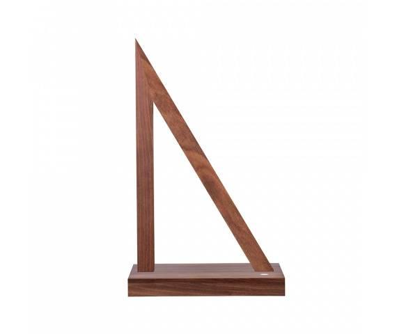 Lampa stołowa Segel 7213976 SPOTLight Premium Collection trójkątna oprawa z drewna bukowego