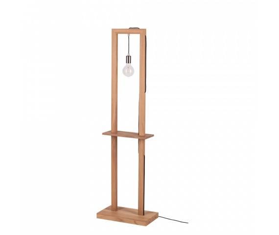Lampa podłogowa Monopod 6460174 SPOTLight Premium Collection wielofunkcyjna oprawa z drewna dębowego