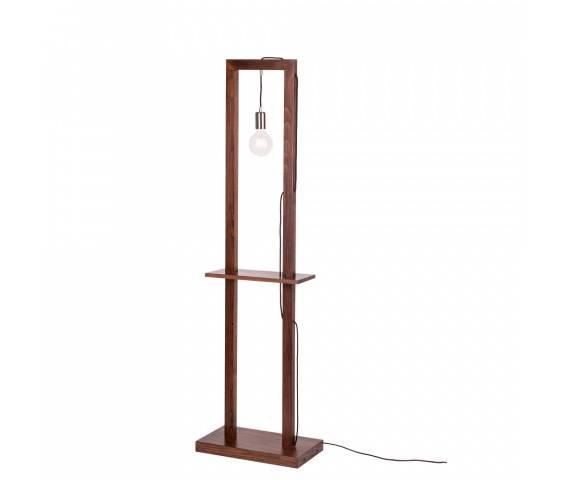 Lampa podłogowa Monopod 6460976 SPOTLight Premium Collection wielofunkcyjna oprawa z drewna bukowego