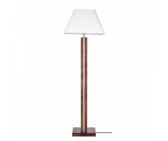 Lampa podłogowa Quad 6451976 SPOTLight Premium Collection nowoczesna oprawa z drewna bukowego