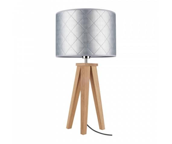 Lampa stołowa Mirabella 6812174 SPOTLight Premium Collection elegancka oprawa w kolorze srebrnym